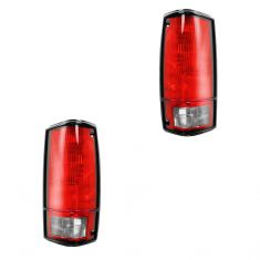 1982-93 Chevy S10 Tail Light W/o Bezel PAIR