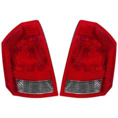 05-07 Chrysler 300 Base & Touring Taillight PAIR
