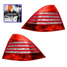 03-06 Mercedes W220 S-Class Taillight PAIR