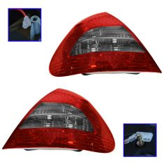 07-09 Mercedes E-Class Sdn w/Avantegarde Pkg LED Taillight PAIR