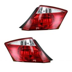 08-12 Honda Accord 2DR Taillight PAIR