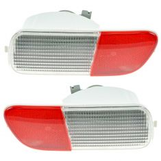2006-10 Chrysler PT Cruiser Reverse Light / Red Reflector PAIR