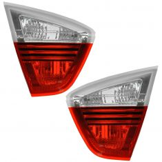 06-08 BMW 3 Series Sedan Inner Taillight/Reverse Light (Trunk Mtd) PAIR