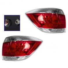 11 Toyota Highlander (US Built) Taillight PAIR