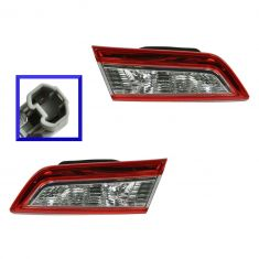 12 Toyota Camry, Camry Hybrid Inner (Trunk Mtd) Reverse/ Taillight PAIR