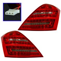 10-11 MB S400 Hybrid, S550, S600, S63 AMG, S65 AMG Taillight PAIR