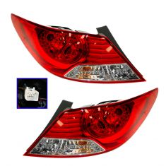 12-13 Hyundai Accent Sedan Outer Taillight RH