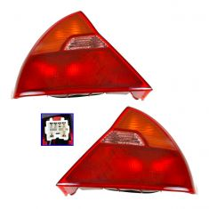 1999-02 Mitsubishi Mirage Tail Light PAIR