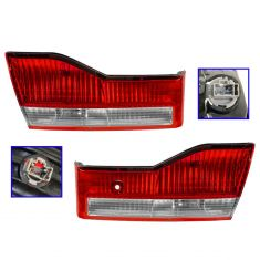 01-02 Honda Accord Sedan Inner Taillight/ Reverse Lamp PAIR