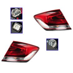13 Honda Civic Sedan Outer Taillight PAIR