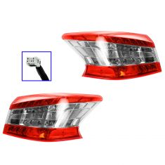 13 Nissan Sentra Outer Taillight PAIR