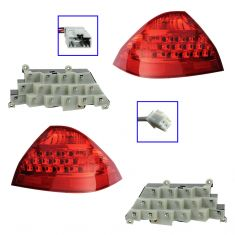 06-07 Honda Accord Tail Light & LED Set for Sedan (Except Hybrid)