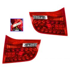 06-08 Audi A6, S6 SW Inner Reverse/Taillight PAIR