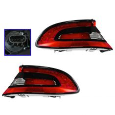 13 Dodge Dart Outer Taillight PAIR