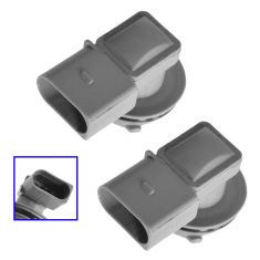 98-10 VW Beetle Tailight; 98 (from VIN W125860)-03 Eurovan (3 Pin) Front Turn Signal Socket PAIR