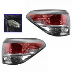 13-14 Lexus RX350, RX450H (Japan Built) Outer Taillight PAIR