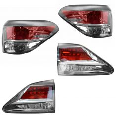 13-14 Lexus RX350, RX450H (Japan Built) Inner & Outer Taillight SET