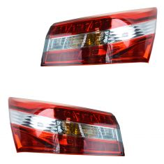 13-14 Toyota Avalon, Avalon Hybrid Outer Taillight PAIR
