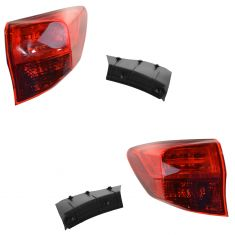 13-15 Acura RDX Outer Taillight Pair