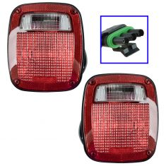 87-90 Jeep Wrangler Taillight PAIR