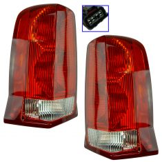 02-06 Cadillac Escalade, 03-06 Escalade ESV Tail Light Pair
