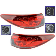 14-15 Mazda 6 Outer 1/4 Panel Mounted LED Taillight Pair