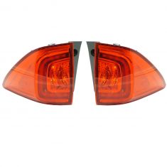16-17 Honda Pilot Outer 1/4 Panel Mounted LED Taillight LH RH Pair