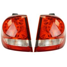 09-17 Dodge Journey (w/o Black Bezel) Outer LED Taillight LR RR Pair