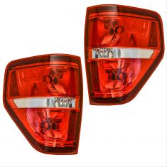 09-14 Ford F150 Tail Light Pair