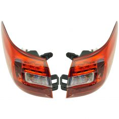 15-17 Subaru Outback Outer Taillight Pair