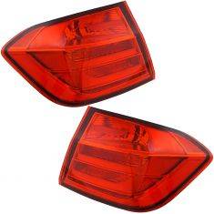 12-15 BMW 320i; 328i; 335i Sedan Tail Light Pair