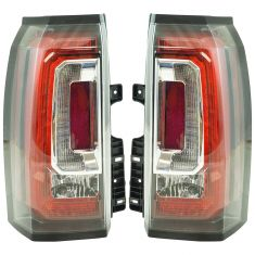 15-17 GMC Yukon Tail Light Pair