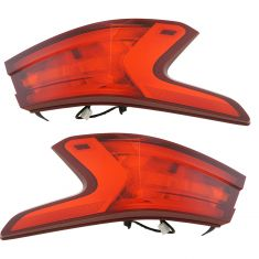 16-17 Nissan Maxima Outer Tail Light Pair