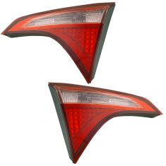 17-18 Toyota Corolla (w/o LED Reverse Light w/Red & White Outer TL) Inner Trunk MTD Taillight Pair