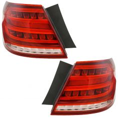 14-15 MB Sedan E300, E63 AMG, E250, E350, E400, E63S; 14 E550 Sedan Outer Taillight Pair