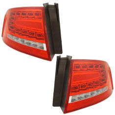 09-12 Audi A4 Sdn; 10-12 S4 Sdn L.E.D. (RPO 8SL) Outer Taillight Assembly LR