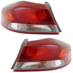 17-18 Hyundai Elantra Outer Tail Light (exc LED) Pair