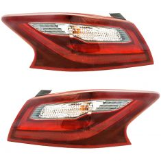 17 Nissan Altima Outer Taillight (Smoked) Pair