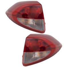 16-17 Hyundai Tucson Outer Tail Light Pair (exc LED)