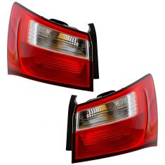 12-17 Kia Rio Sedan Outer Tail Light Pair (exc LED)