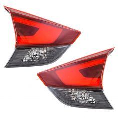 17-18 Nissan Rogue Inner Liftgate Tail Light Pair
