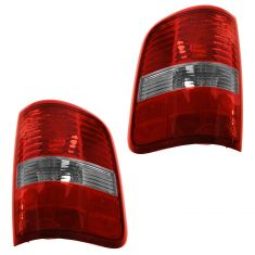 06-08 Ford F150 Styleside (exc Harley Davidson) Taillight Pair (Ford)