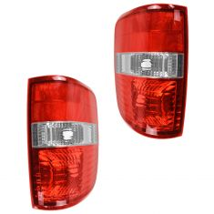 04-05 Ford F150 New Body Styleside Taillight Lens & Housing Assy Pair (Ford)