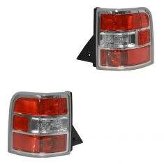 09-11 Ford Flex (Non L.E.D.) Taillight Assy Pair(Ford)