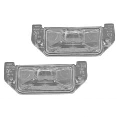 05-14 Chrysler, Dodge Multifit Rear License Plate Light Lense Pair (Mopar)