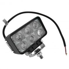 4 Inch - Rectangular (18 Watt) Spot Beam 6 LED Offroad Work Light