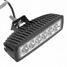 6 Inch - Rectangular (18 Watt) Spot Beam 6 LED Offroad Work Light