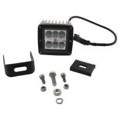 4 Inch - Square (18 Watt) Auxillary Flood Beam 6 LED Offroad Work Light