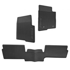 10-14 F150 Extended Cab Molded Blk Rubber