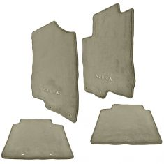 06-11 Hyundai Azera Embroidered ~AZERA~ Taupe Carpeted Floor Mat Kit (Set of 4) (Hyundai)